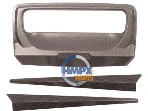 2015 sonrası ford ranger bagaj kapağı mandal aksesuarı (karbon)