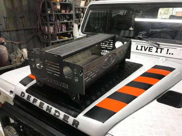 Land Rover Kamp sobası