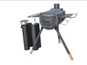 Kamp sobası pratik kullanım kolay kurulum
