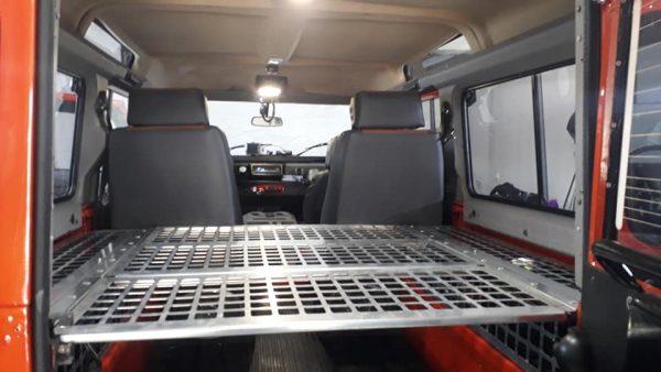 Land Rover Defender Bagaj ve Yatak Sistemi