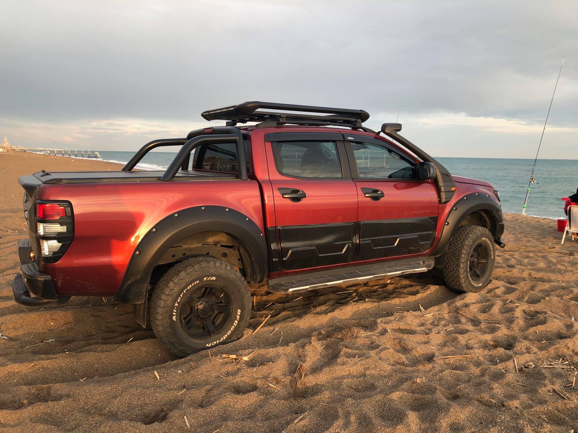 Ford Ranger Raptor Model Full Aksesuar Off Road