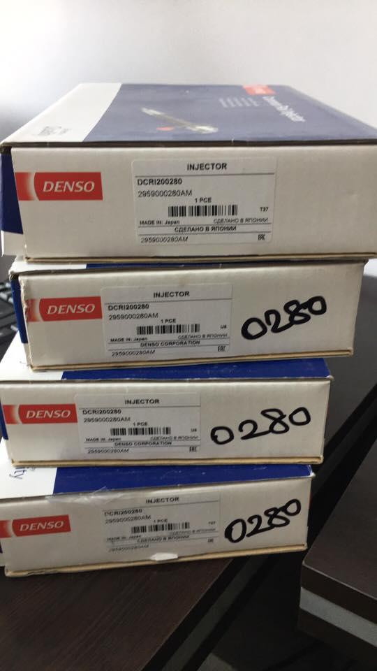 Toyota Hilux  denso enjektör  takımı sıfır  ürün