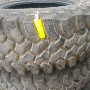 İnsa turbo Dakar 265 65 17 lastikler sıfır ayarindadir