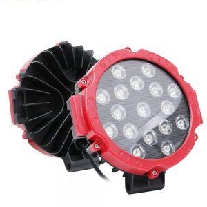 17 LEDLİ 51 W Off-Road Led Işık 10-60 V Güçlü Beyaz Işık