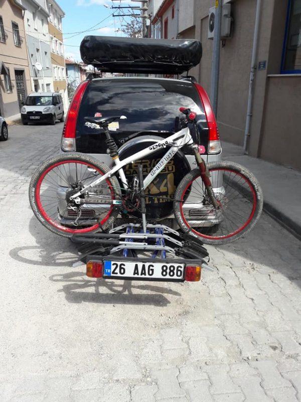Bisiklet taşıma aparatı