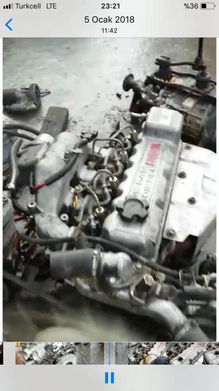 Nissan bd 30 motor ve şanzıman