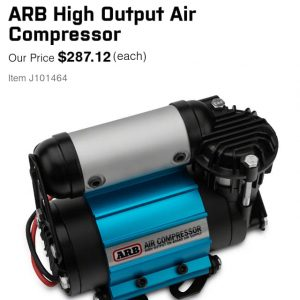 ARB 12V AIR COMPRESSOR
