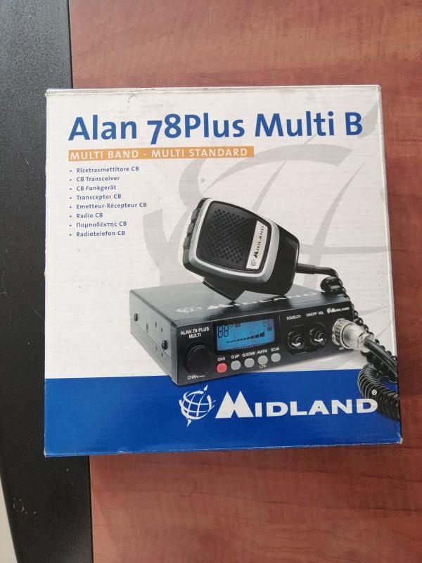 Midland ALAN 78 PLUS MULTI B - Halk Bandı Telsiz