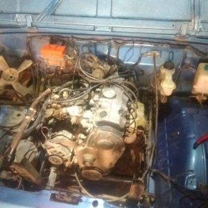 SJ 410 Motor ve Şanzıman