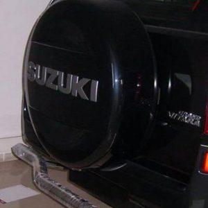 Suzuki grand Vitara arka krom koruma demiri