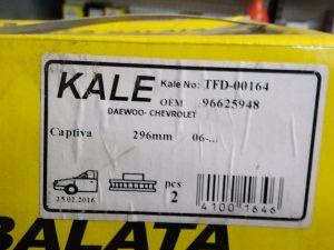 Chevrolet captiva_ opel antara ön fren diski