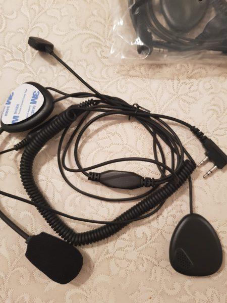 Kask içi Telsiz Kulaklık Mikrofon