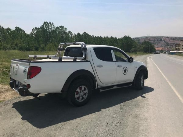 Pick-up roll bar