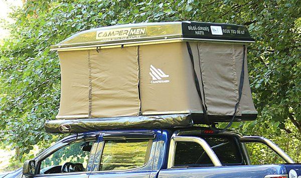 araç üstü tavan çadırı