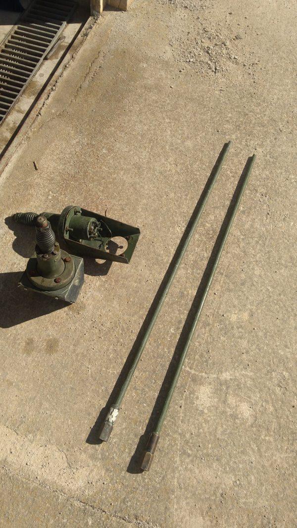 Usa Telsiz Anteni Son 2 takım (çubuk, anten ve ayak)