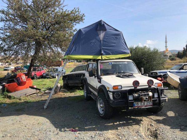 Araç tavan çadırı