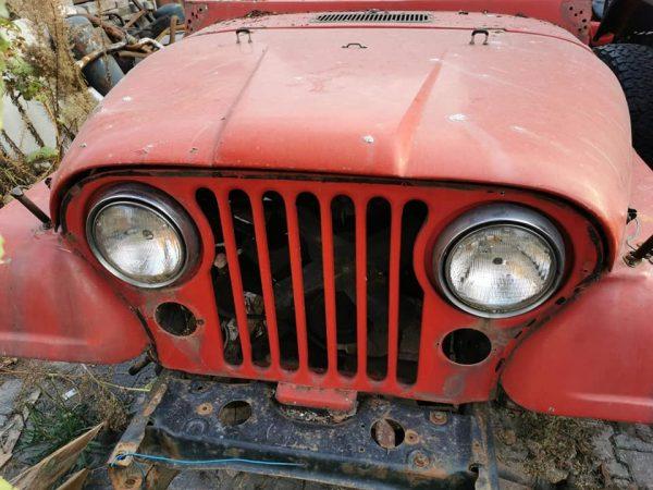 Jeep cj ön taraf komple