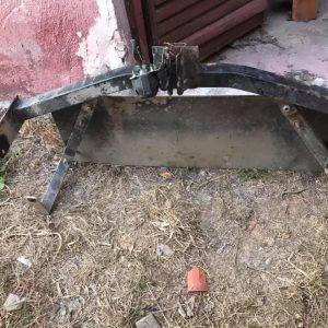 Niva çeki demiri ve tüptank koruma