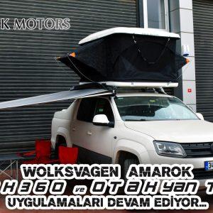 OTAK 360 Serisi Araç Üstü Çadır -By Mekik Motors