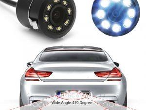 Araç Geri Görüş Kamera Gece Görüşlü HD Güvenlik Kamerası18.5MM