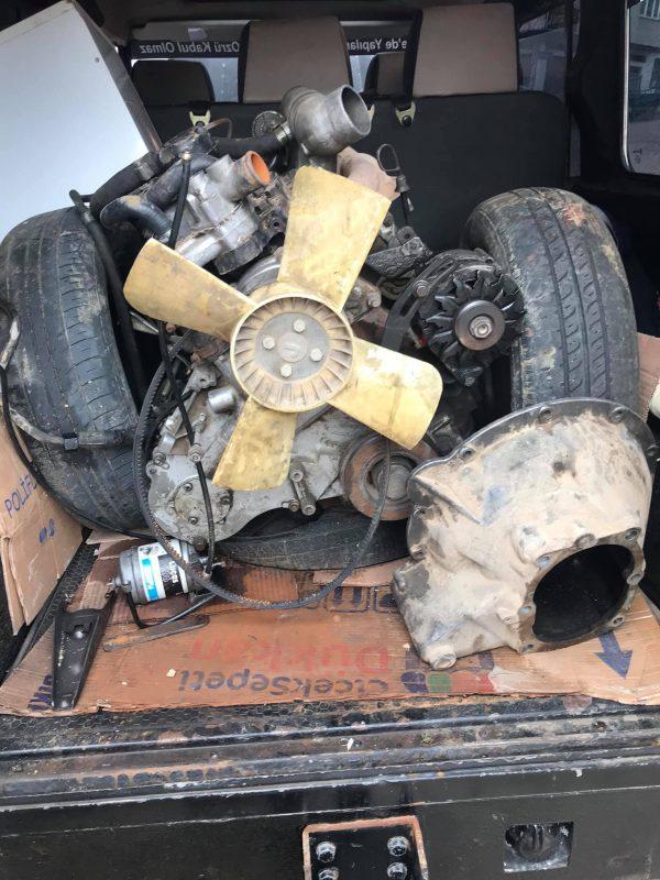 Land rover defender dizel motor