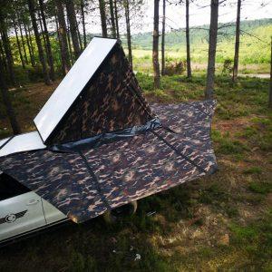 Satılık Amarok uyumlu ful camper set. 3 kapak canopy(arka camlı kabin) ayaksız 2...