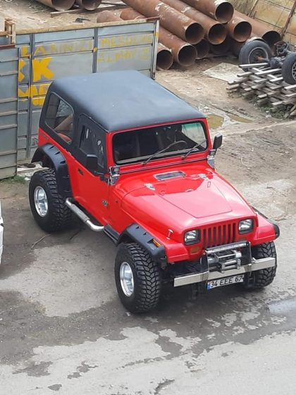 1988 Wrangler v8