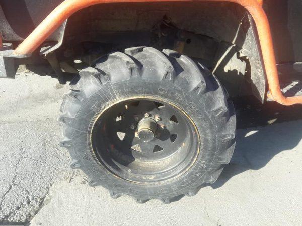 37 x20 traktör lastiği ve jant