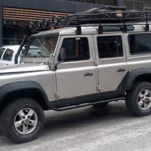 Defender 110 yan basamak ve slider