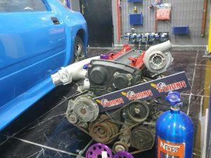 Skyline R34 Rb25detneo full swap kit motor