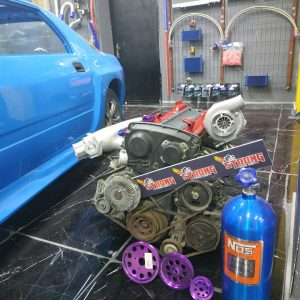 Skyline R34 Rb25detneo full swap kit motor