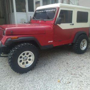 Jeep cj7 wrangler hardtop ve kapıları araç satılık değil