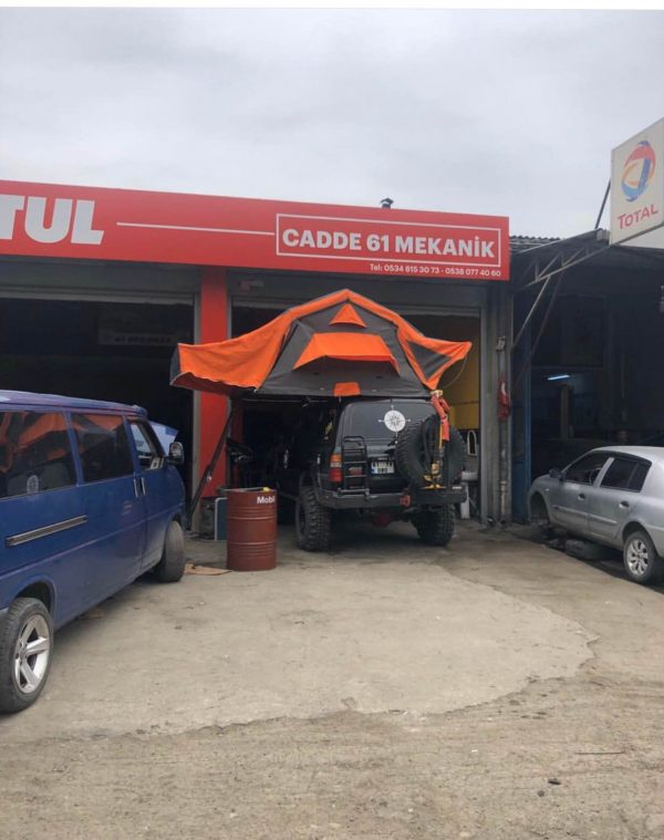 SIFIRDAN FARKSIZ ARAÇ ÜSTÜ OFFROAD ÇADIR