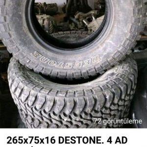 265x75x 16 DESTONE LASTİK