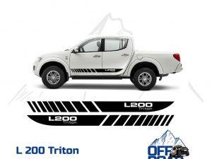 Mitsubishi L200 Triton Aufkleber Set