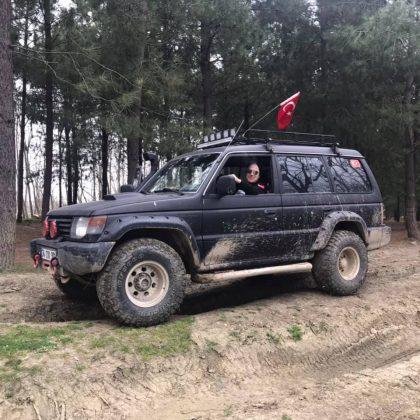 Mitsubishi L200 ile takas