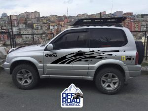 Suzuki grand vitara sticker set