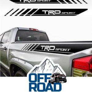 TRD SPORT #trdsport #toyotasport #trdoffroad  OFFROADSTICKER.CC   4×4 Suv araçla