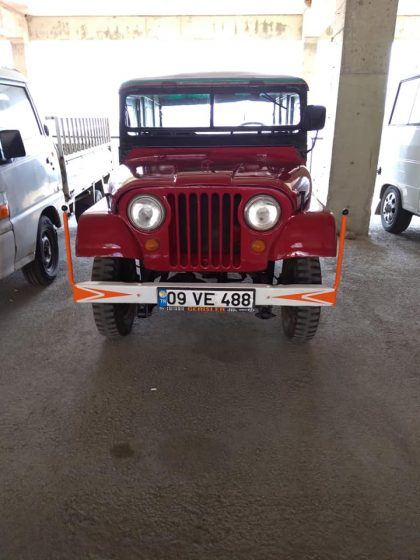 64 model willys jeep