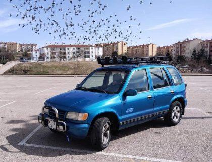 1996 Kia Sportage 2.0i 16V 128 Bg DLX