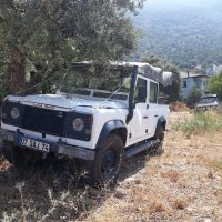 87 model orjinal ingiliz land rover defender 110