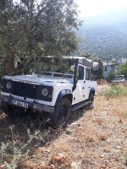 87 model orjinal ingiliz land rover defender 110