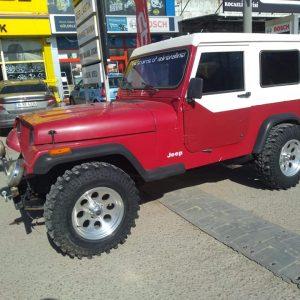 Jeep cj7 ve wranglerr uyumlu saç kabın hardtop