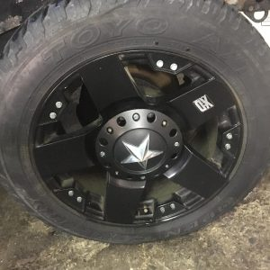 KMC Wheels XD Rockstar 18inch jant Ve Toyo open country 255/55/18 Lastik O