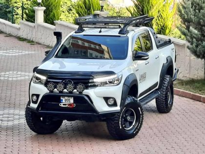 OFF ROAD DONANIMLI 2016 MODEL TOYATA HİLUX 4x4 ADVENTURE