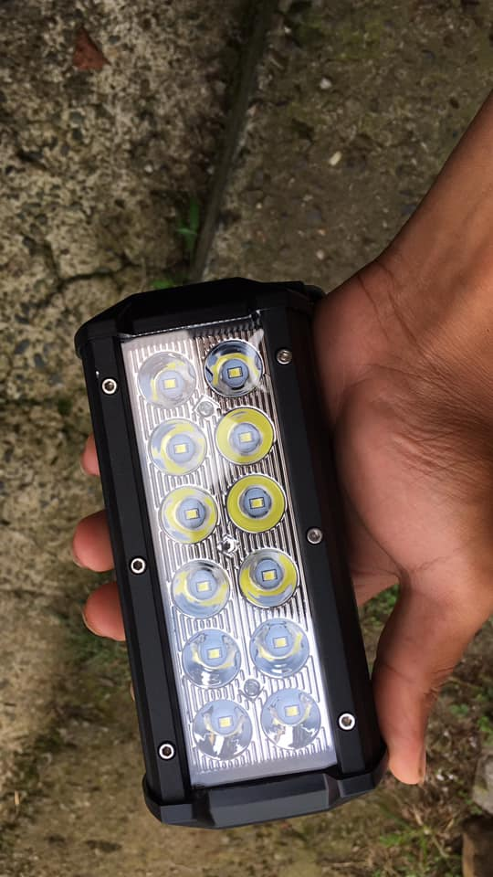 72w gücünde led bar