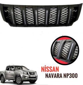 Nissan Navara NP300 2015-2018 Uyumlu Ön Panjur ( Ledsiz)