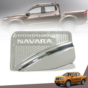 Nissan Navara 2015-2018 Uyumlu Krom Depo Kapağı Koruma