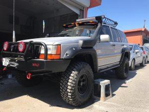 Grand Cherokee ZJ Dodik Şnorkel Moonvisor Set