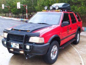 1997 Model Opel Frontera 2.2 Takasli..